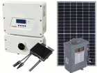 Grid-Tie Solar power Kit with 4800 Watts fo Panels and 3000 Watt SolarEdge HD-Wave Inverter