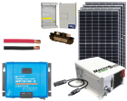 RV & Marine 12V Charging Kit with 1300 Watt Solar Panel & 100 Amp MPPT Charge Controller