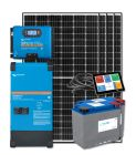 RV Solar Kit Turnkey System - 1320W Solar Array, 3000VA Victron 12V MultiPlus-II, 400Ah Discover Lithium, System Monitoring, Wiring & Breakers