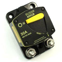 Bussmann MRCB 187030F-03-1 30 Amp DC Circuit Breaker With Switch