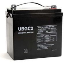 Universal Battery 200 Amp-hours GC2 AGM Sealed Battery