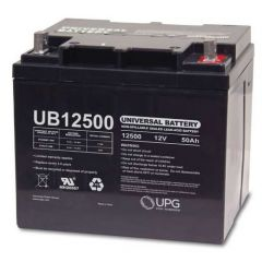 Universal Battery UB12500 45977 50 Amp-hours AGM Sealed Battery