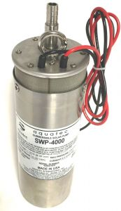 "Aquatec SWP-4000 Submersible 4"" Deep Well Diaphragm Pump"