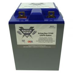 Battle Born Batteries BB5012 Lithium Ion Battery 12V 50Ah