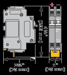 Magnum Energy BR-DC100-DIN