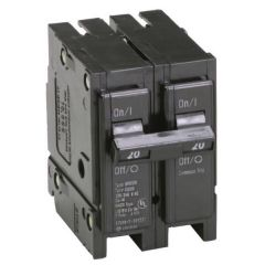 Eaton BR220 20A 240VAC Two-Pole Circuit Breaker