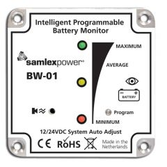 Samlex BW-01 Programmable Battery Monitor
