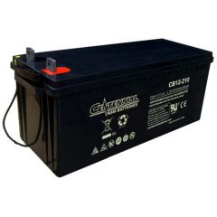 Centennial CB12-210 12V Sealed AGM VRLA Deep Cycle Battery