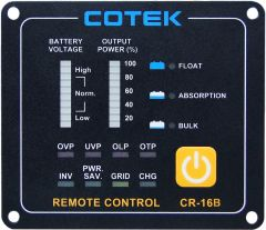 COTEK CR-16B Power Inverter Remote Control