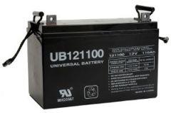 UPG Universal Battery UB121100 110 Amp-hour AGM Sealed Battery