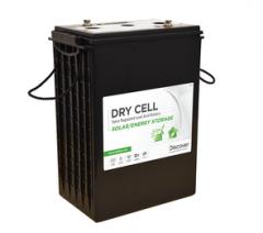 Discover Energy 6VRE-2700FD Dry Cell L16 408Ah 6VDC Solar Hybrid Battery Block