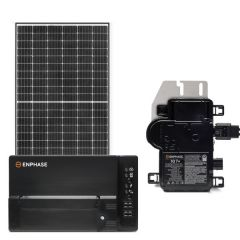 Grid-Tie Solar Power Kit With 2640 Watts of Panels and Enphase IQ7+ Microinverters