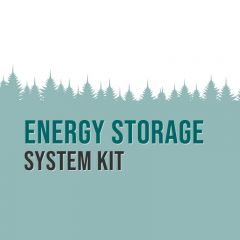 Sol-Ark Power Kit with 6600 watts of PV and 14.8kWh of Discover AES LiFePO4 Battery Storage