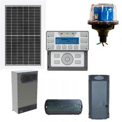 Estate Off-Grid Solar Power Kit With 23,760 Watts of Panels and 24,000 Watt 48VDC 120/240VAC Inverter/Charger