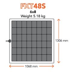 Merlin Solar FXT48S Flexible Solar Panel