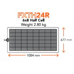 Merlin Solar FXTH24R Flexible Solar Panel