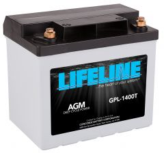 LIFELINE GPL-1400T AGM sealed starting battery