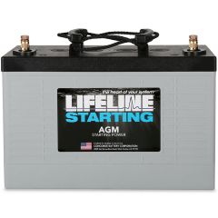 LIFELINE GPL-3100T AGM Sealed Starting Battery