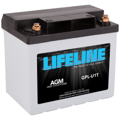 LIFELINE GPL-U1T AGM sealed battery