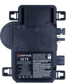Enphase IQ7X-96-2-US Micro Inverter 240 Volt AC With MC4 Connector for 96 Cell Solar Modules
