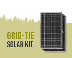 Grid-Tie Solar Power Kit With 11,880 Watts of Panels and Enphase IQ7+ Microinverters
