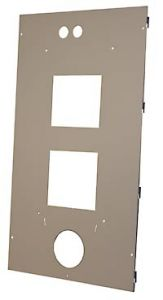 MidNIte Solar MNERIGHTWIDEDOORSTS Gray Steel RH door with LH Chrg Cntrl Brkt for Wide OB Chassis