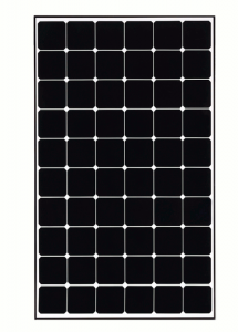 LG LG360Q1C-A5 360 Watt Monocrystalline Solar Panel With Black Frame