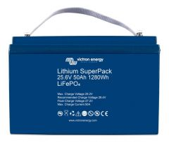 Victron Energy Lithium SuperPack 25.6V/50Ah Battery