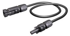 MC4-100-8AWG-MF-1KV, 100' MC4 Extender, 8 AWG, Single Jacket, 19 strand, 1KV, Male and Female Connector.