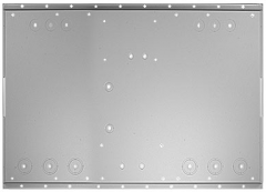 Midnite Solar MNBACKPLATE, 16 gauge gray steel accepts one or two EPanels, (wide or narrow).