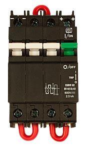 MidNite Solar MNEPV20-600RT Remote Trip Circuit Breaker