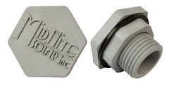 Midnite Solar MNHOLE PLUG 1/2, water tight hole plug to fill a 1/2 knock out.