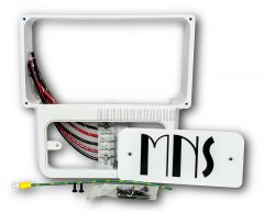 MidNite Solar MNKID-WMBB-W Pre-Wired Wall Mount Bracket in White