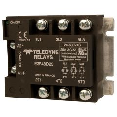 Midnite Solar MNRAC25-TRIAC, 25 Amp, 600 VAC Three-Phase Relay