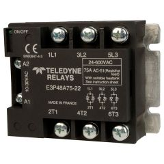 MidNite Solar MNRAC75-TRIAC, 75 Amp, 600 VAC, Three-Phase Relay