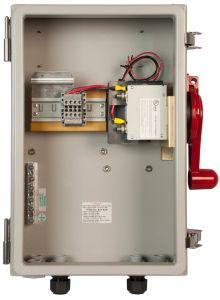 Midnite MNSOB4X-2P-PSB, 2-pole Disconnect in Nema 4X Enclosure, With Power Supply Board Installed