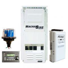 Custom Built Off-Grid Magnum Energy 4,000 Watt 24VDC 120/240VAC Power Panel System