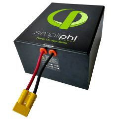 SimpliPhi PHI-1.2-24-160 High Output Lithium Ferro Phosphate Deep Cycle Battery.
