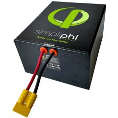 SimpliPhi PHI-1.4-24-60 Lithium Ferro Phosphate Deep Cycle Battery.