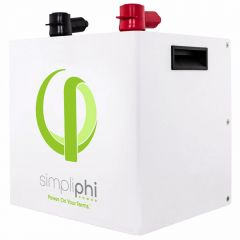 SimpliPhi PHI-2.4-24-160 High Output Lithium Ferro Phosphate Deep Cycle Battery.