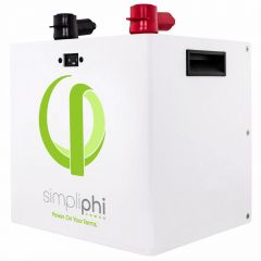 SimpliPhi PHI-2.9-48-60 Lithium Ferro Phosphate Deep Cycle Battery.