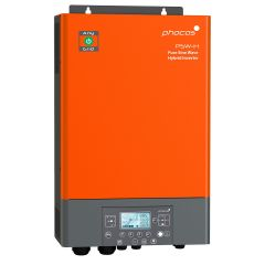 Phocos PSW-H-3KW-120/24V Pure Sine Wave Hybrid Inverter Charger.