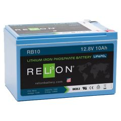 Relion RB10 Lithium Ion LiFePO4 Battery 12V 10Ah