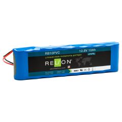 Relion RB10PVC LiFePO4 Lithium 12V Battery