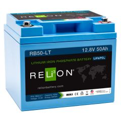 Relion RB50-LT Lithium 50Ah 12V Deep Cycle Battery