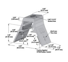 S-5! RibBracket Mini for Trapezoidal Roof Profiles