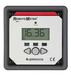 Morningstar RM-1 Remote Meter for SunSaver MPPT, Duo controllers and SureSine inverter