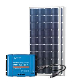 RV Solar Kit Charging System - 360W Solar Array & 30A Victron Charge Controller, Wiring & Breakers