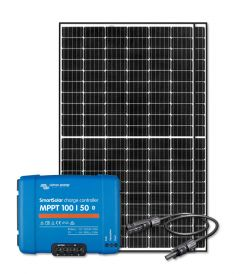 RV & Marine 12V Charging Kit With 640 Watt Solar Panel & 50 Amp MPPT Charge Controller