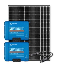 RV & Marine 12V Charging Kit With 1280 Watt Solar Panel & 100 Amp MPPT Charge Controller